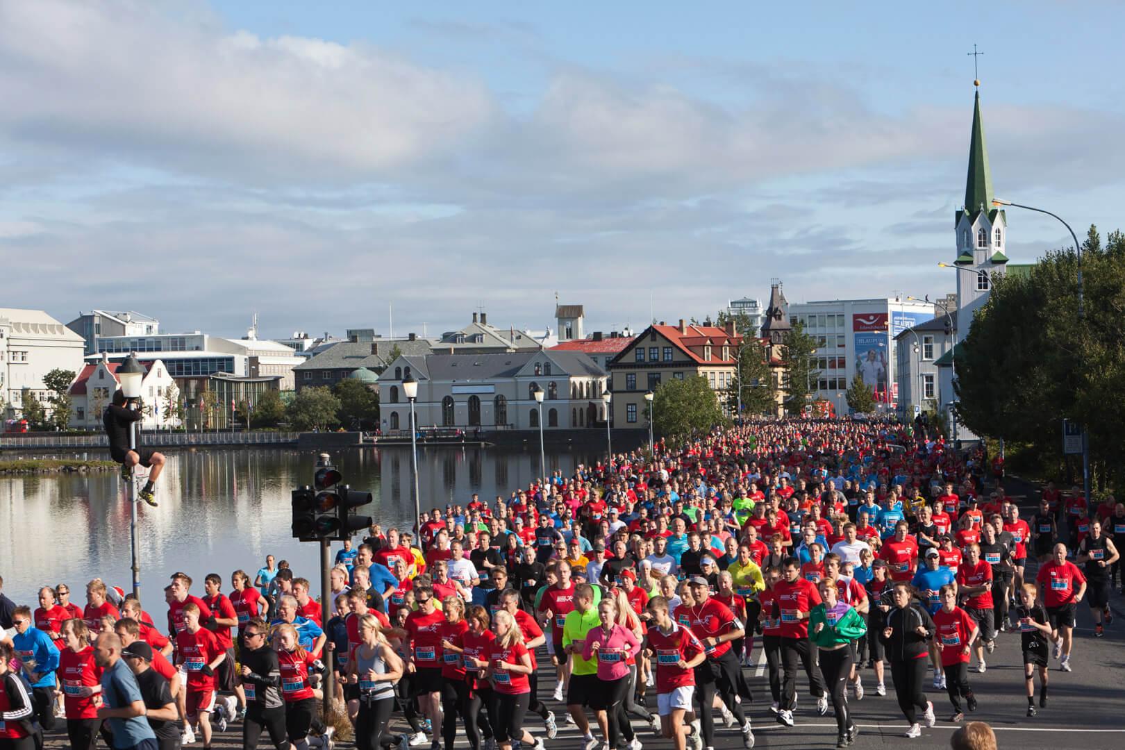 Reykjavik Marathon, Island