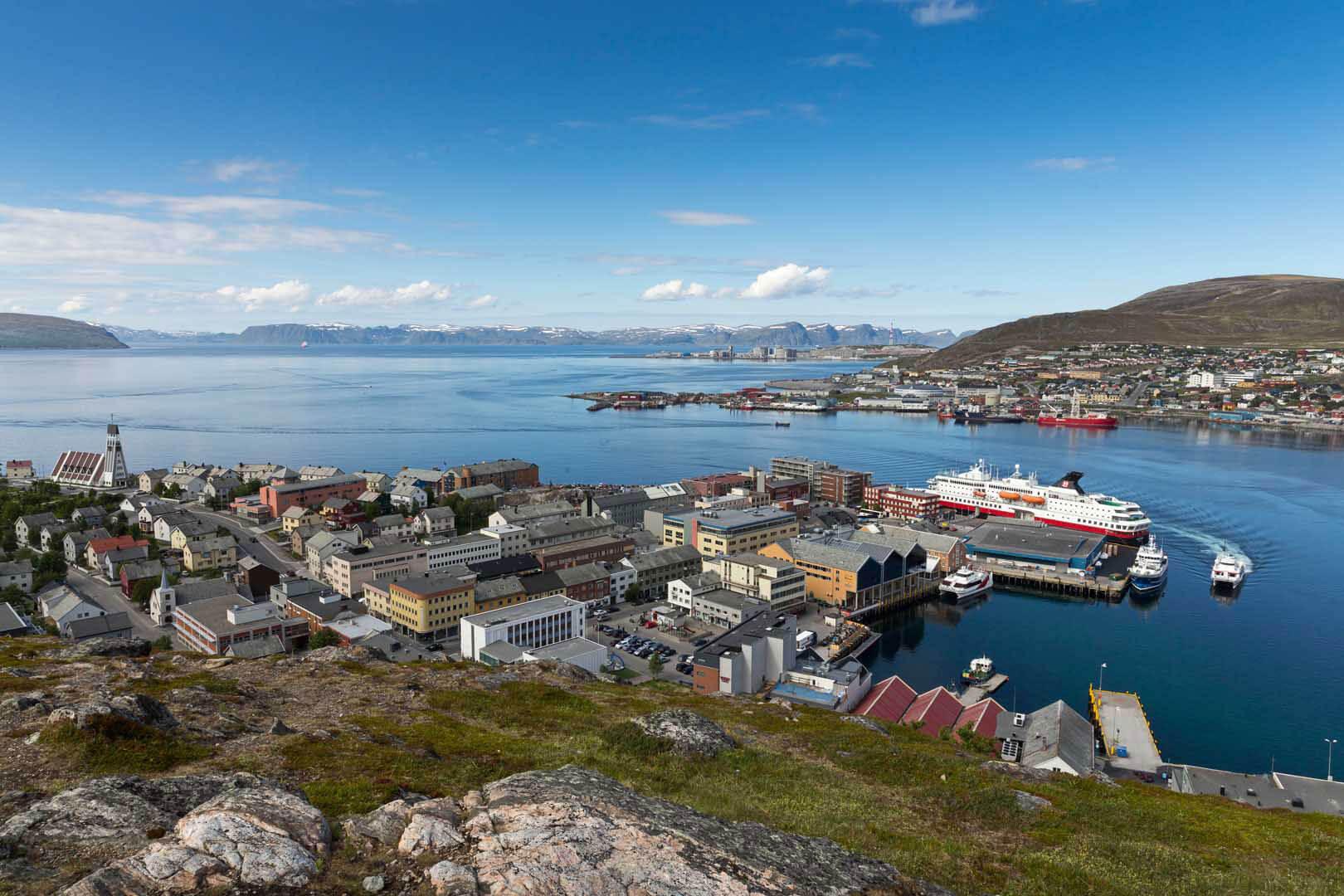 Hammerfest, Hurtigruten, Norwegen