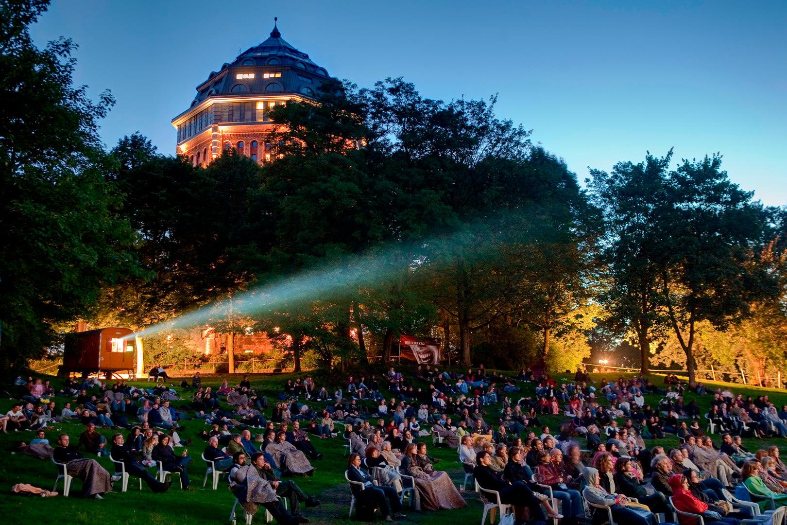 Openair Kino im Schanzenpark