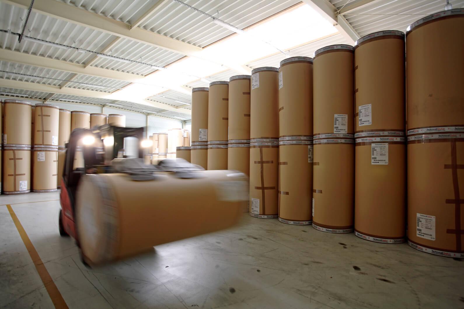 Herstellung Regenerat Papier - Papierlager
