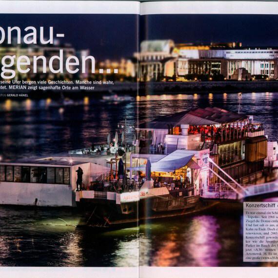 Merian Magazin Budapest, Reportage Donaulegenden