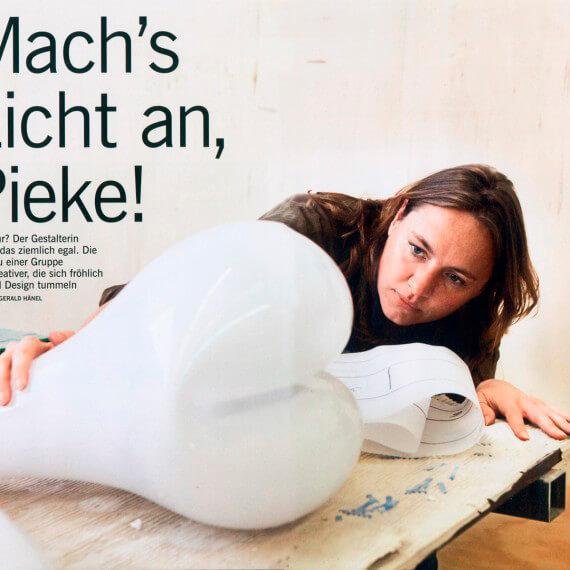 Merian Magazin Amsterdam, Portrait Designerin Pieke Bergmans