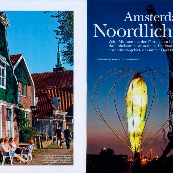 Merian Magazin Amsterdam, Reportage Noord