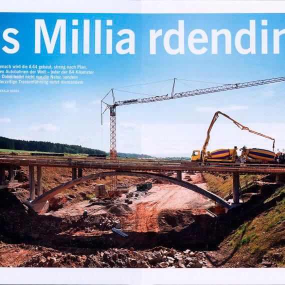 Merian Magazin Hessen, Reportage A44