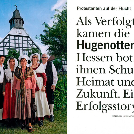 Merian Magazin Hessen, Reportage Hugenotten