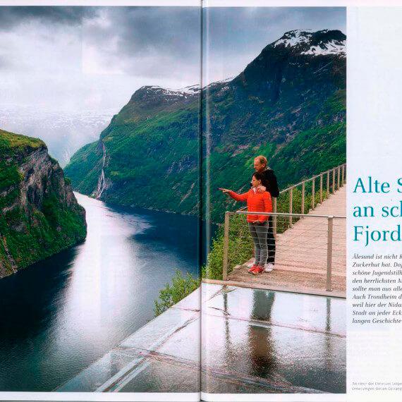 Dumont Bildatlas Hurtigruten, Geirangerfjord