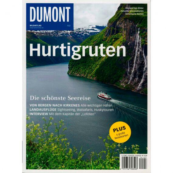 Dumont Bildatlas Hurtigruten, Titel und Fotoproduktion