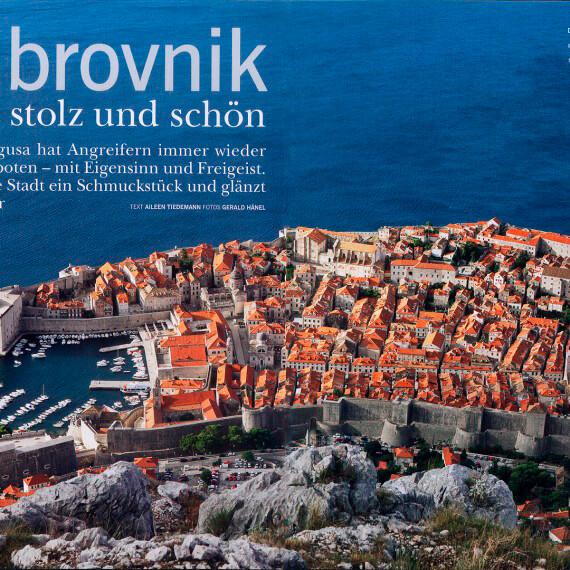 Merian Magazin Kroatien, Reportage Dubrovnik