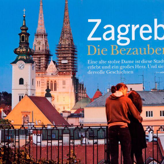 Merian Magazin Kroatien, Reportage Zagreb