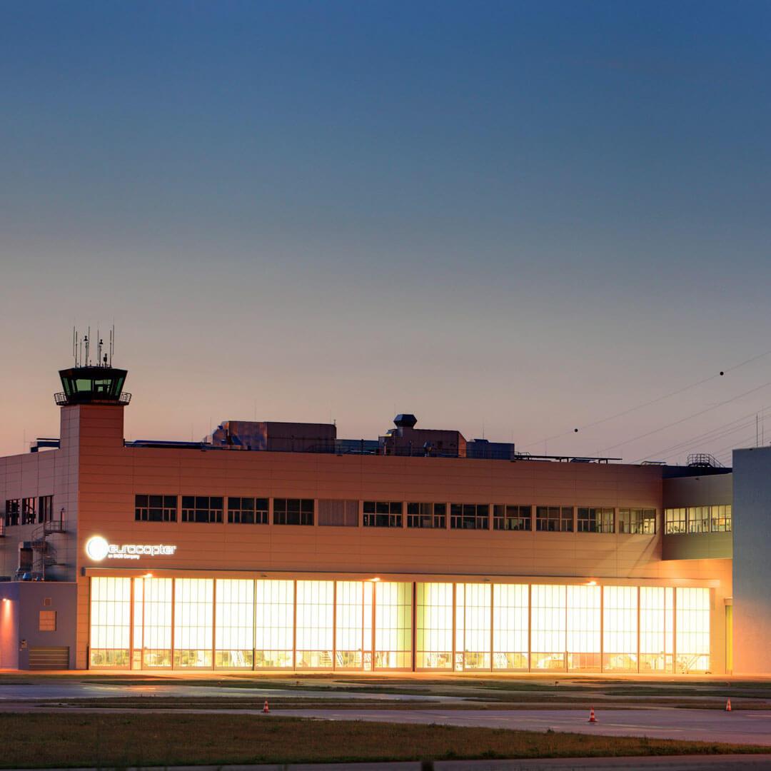 Eurocopter Deutschland GmbH Hubschrauberfabrikations Halle