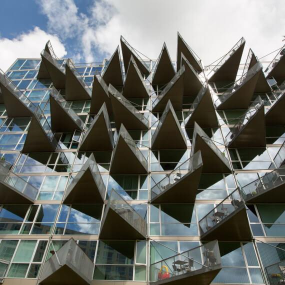 VM Häuser, Orestad, Kopenhagen, Dumont