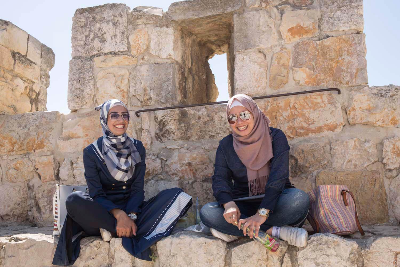 Junge Palästinenserinnen, Jerusalem