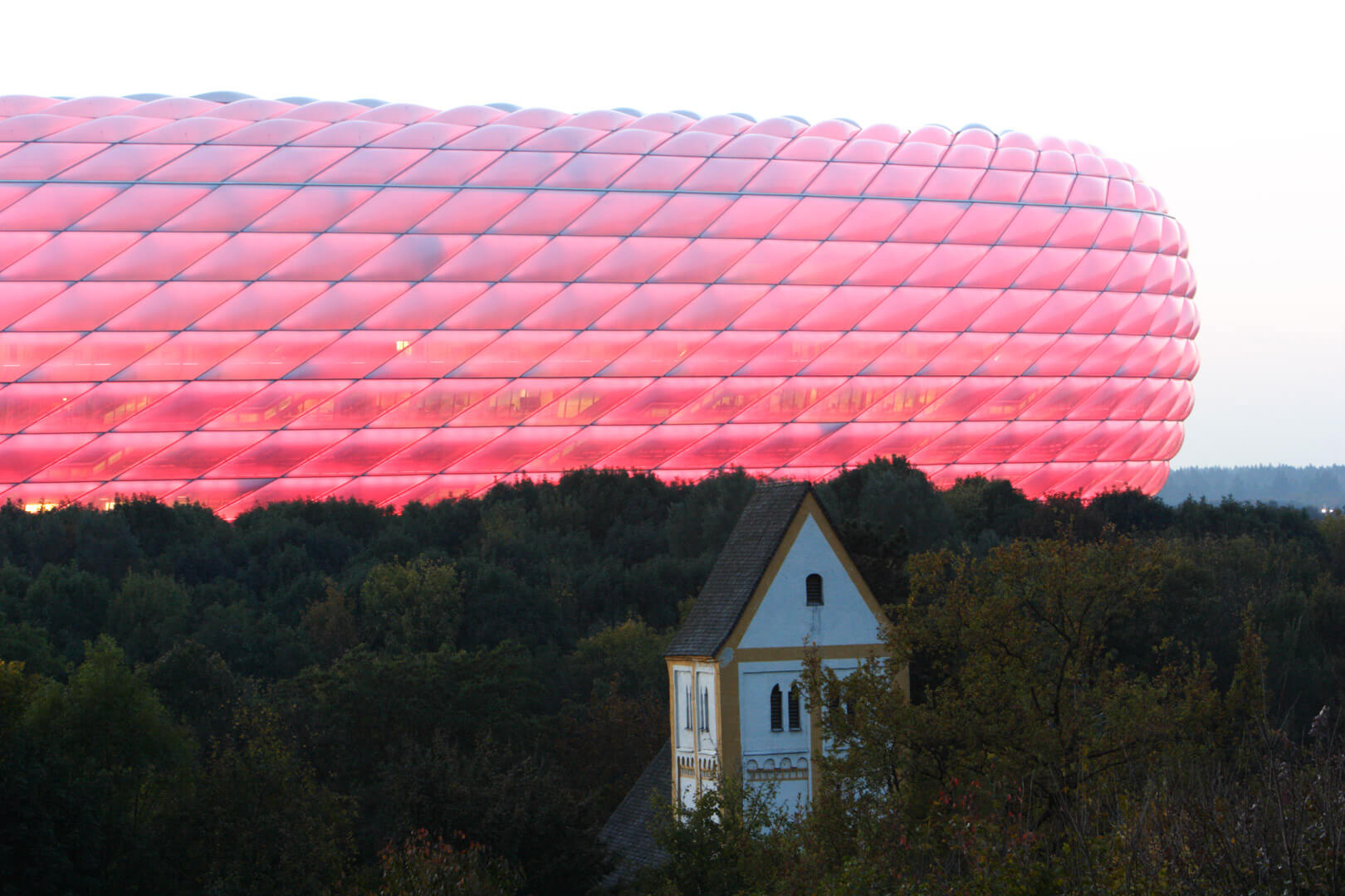 Allianz Arena, München, Merian Magazin