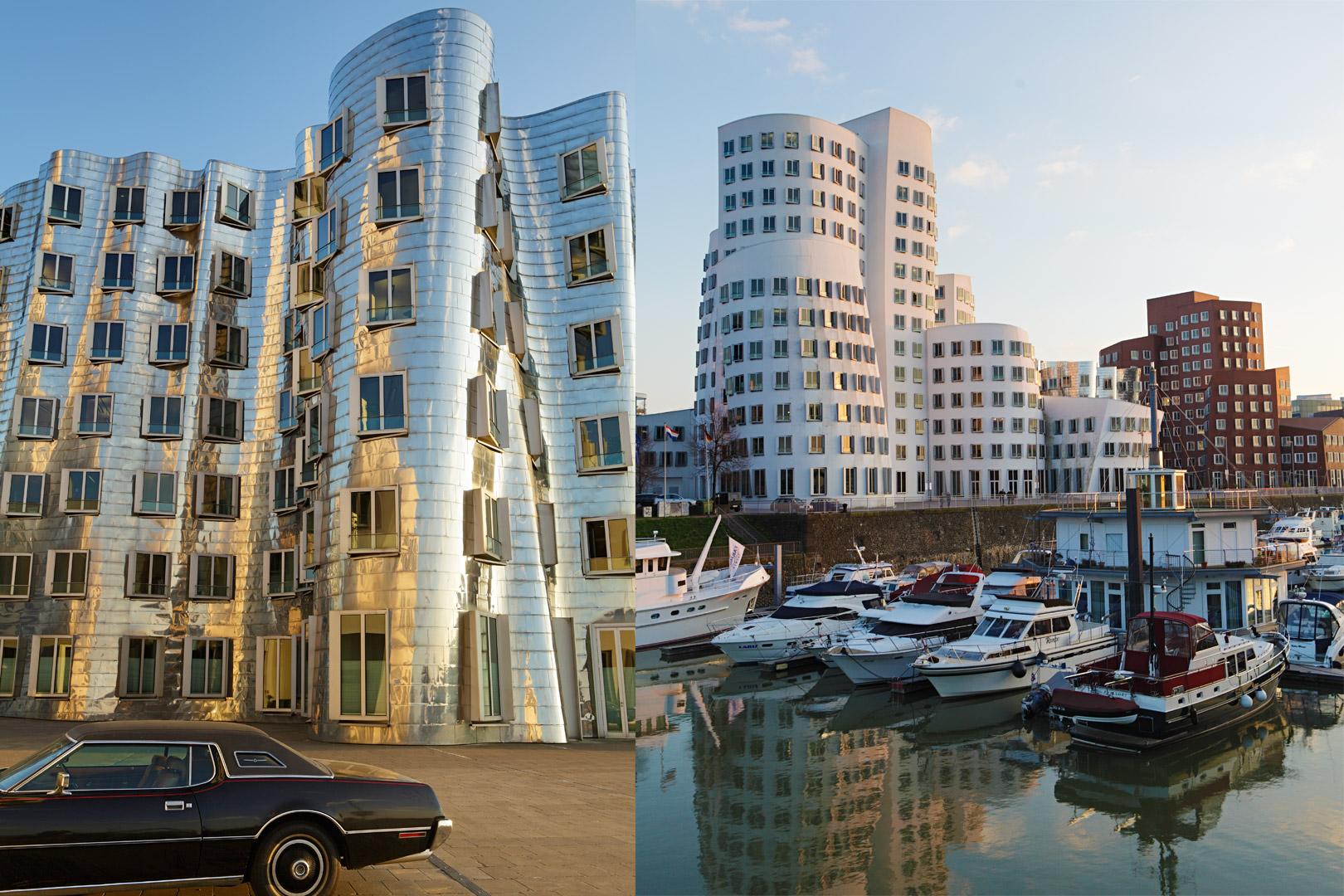 Medienhafen, Frank O. Gehry, Düsseldorf, Merian Magazin
