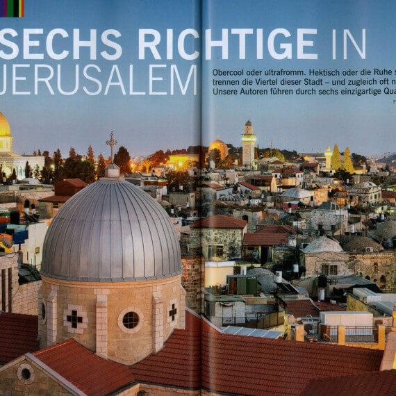 Merian Magazin Jerusalem