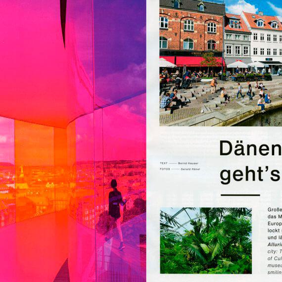 Lufthansa Magazin 12/16, Aarhus Kulturhauptstadt Europas