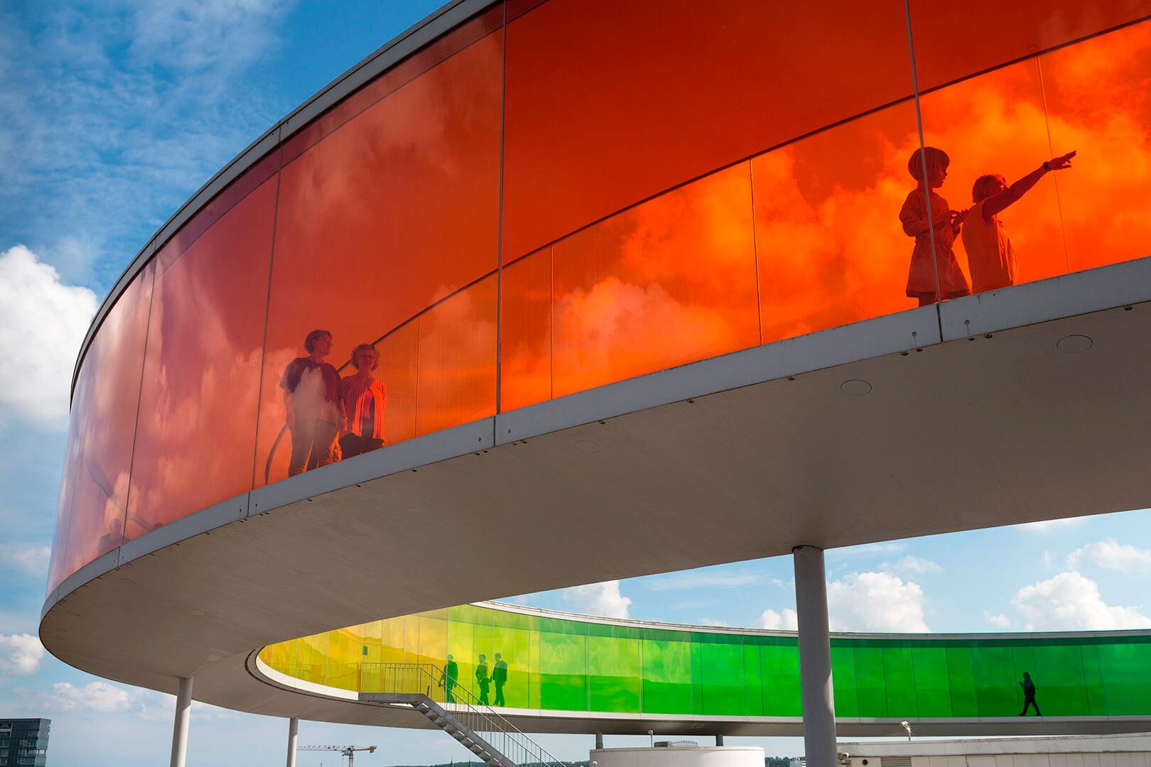 ARoS, Your Rainbow, Olafur Aliasson, Aarhus, DK, Lufthansa Magazin