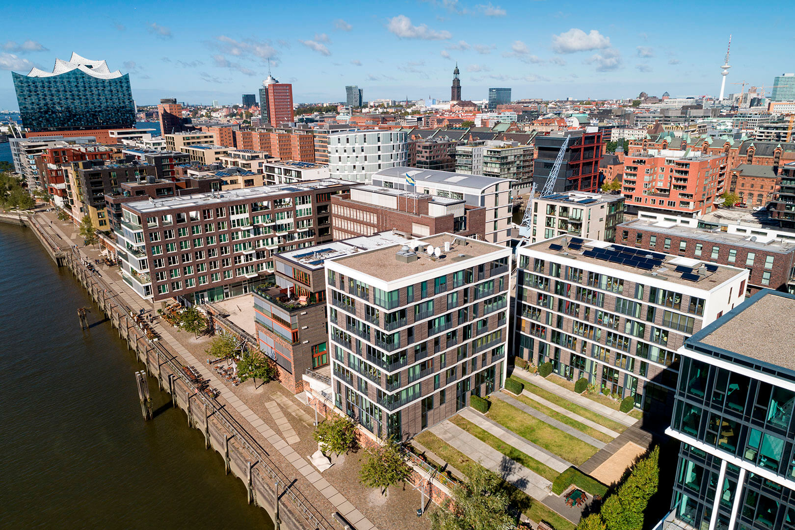 Drohnenfoto, Hamburg, PFP Architekten