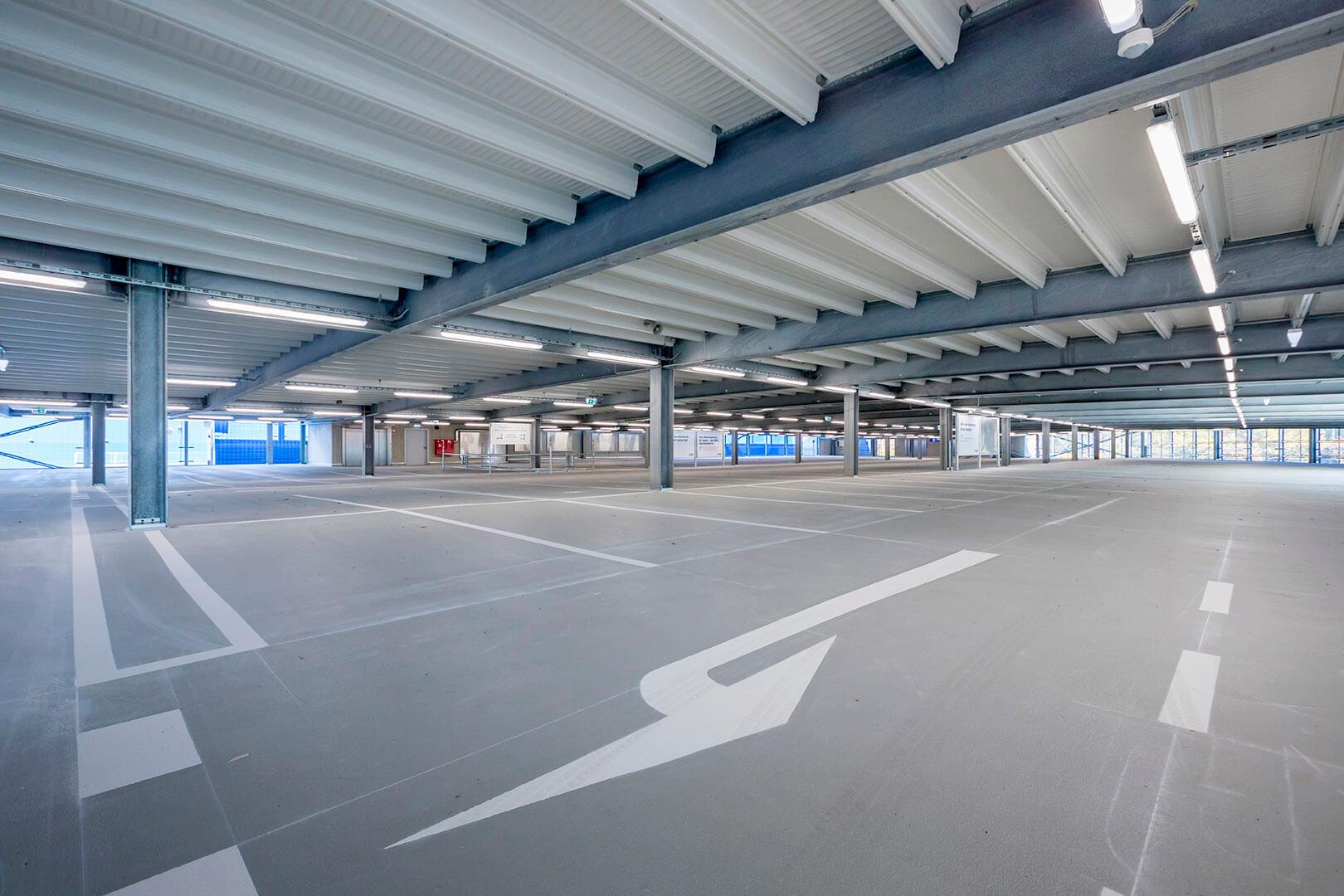 Ikea Parkhaus, Kiel, Köster GmbH