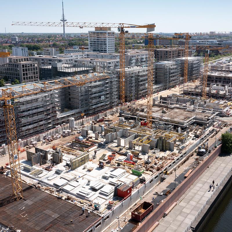 20-0497_Europaquartier_JustusGrosse_Bremen_Wohnungsbau_Baustellenreport_31.05.21 mail@garp-photo.de